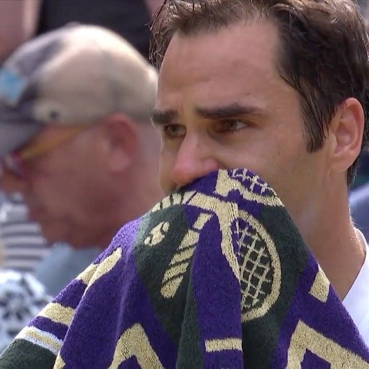 "Wimbledon on Instagram: ""Tears of joy for @rogerfederer... #Wimbledon"""
