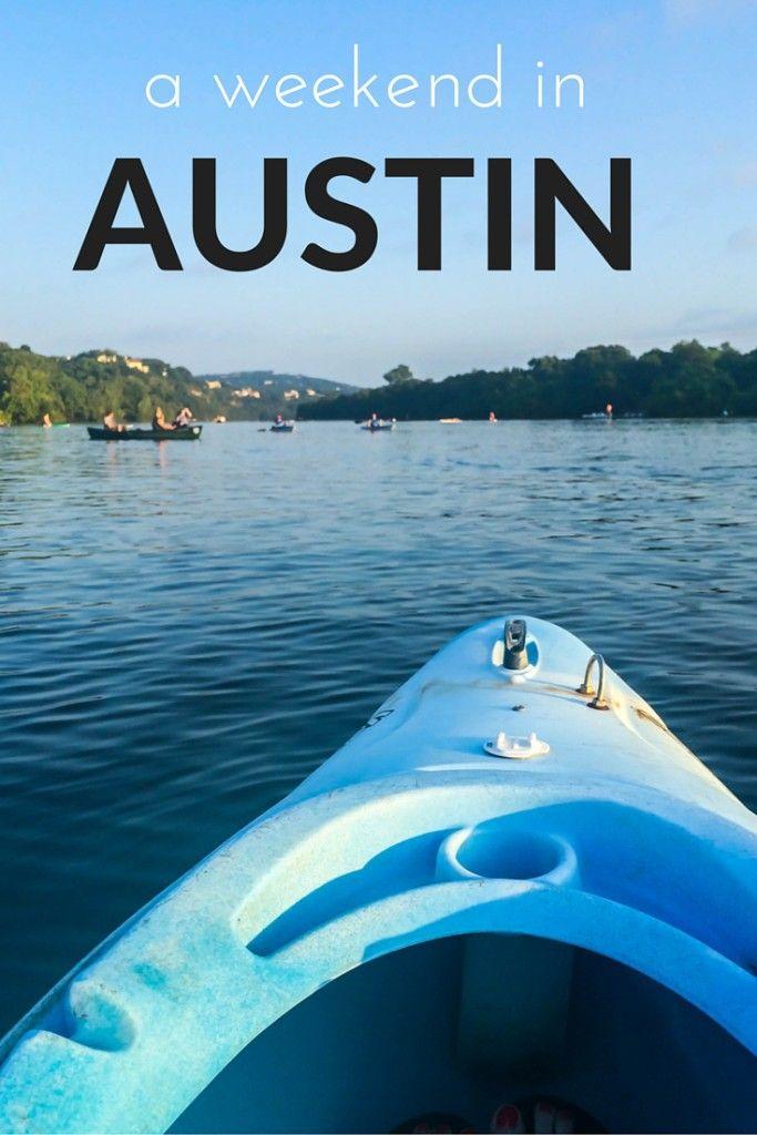 A weekend in Austin, TX! Strolling along the boardwalk, kayaking on Lady Bird Lake, and hiking Barton Creek.