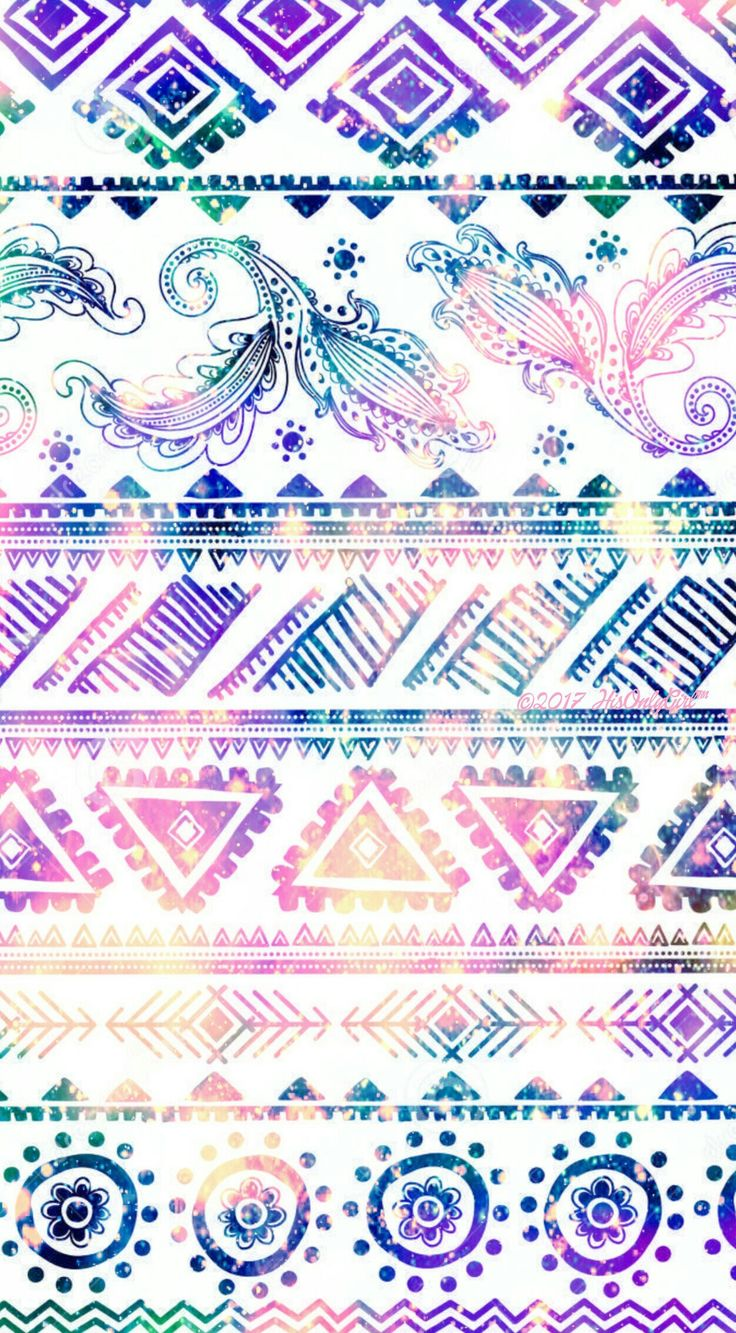 Tribal galaxy iPhone/Android wallpaper I created for the app CocoPPa.