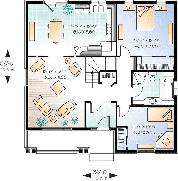 Plan 21275DR: Popular Brick House Plan With Alternates