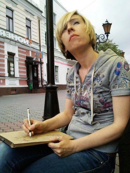 Artist Olga Belskaya