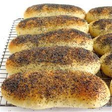 Homemade Hamburger or Hot Dog Buns