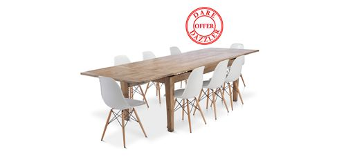 St Malo Extension Dining Table $999 on sale