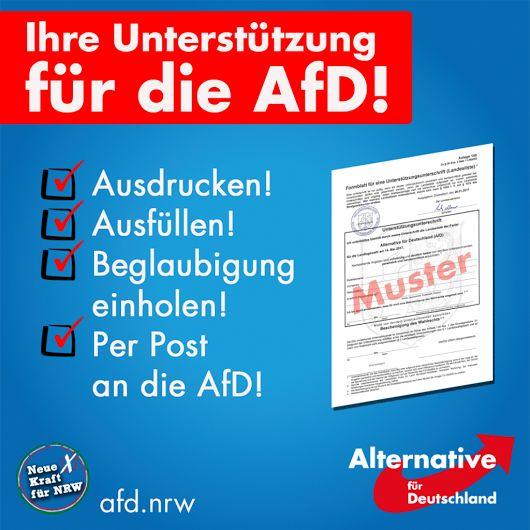 Alternative für Deutschland NRW · AfD NRW  Die Landtagswahl steht in wenigen ...