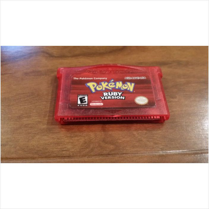 Pokemon Ruby Version Gameboy Advance GBA SP system Game 100% Authentic SAVES! 045496732530 on eBid United States