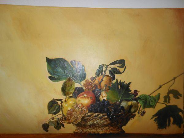 Caravaggio - Basket of Fruit