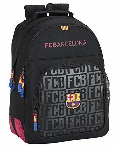 98b62d57f127a Safta FC Barcelona Schulrucksack 42cm Schwarz. 32 x 42 x 16 cm. Corners  Gummiverstärkung