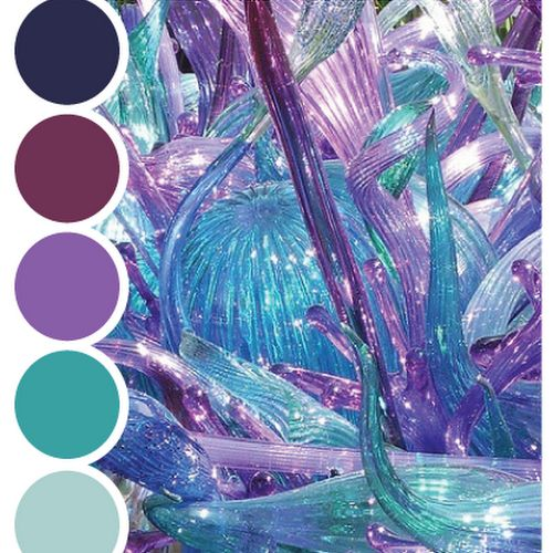 P▲STEL FEATHER STUDIO: color palette