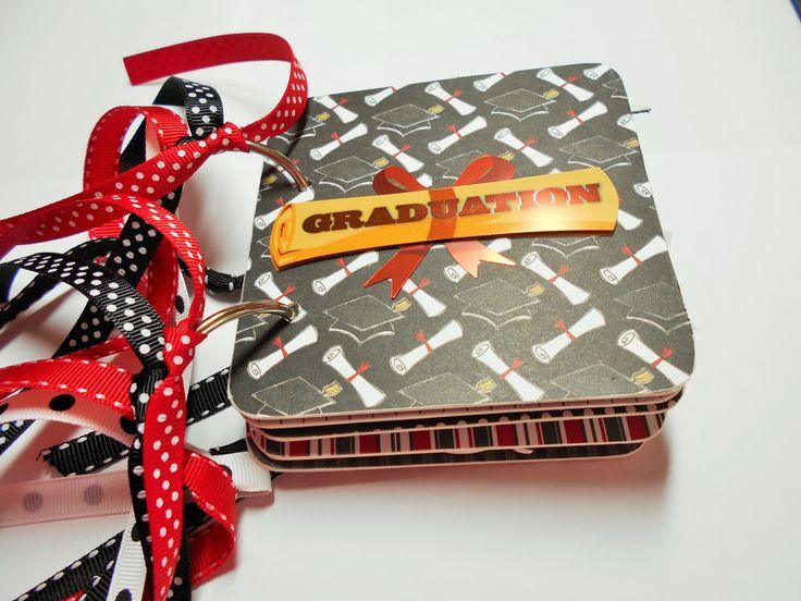 Graduation Mini Album, Graduation Scrapbook, Graduation Photo Album, Graduation Brag Book, Graduation memory Album, Graduation Album, Grad by HampshireRose on Etsy