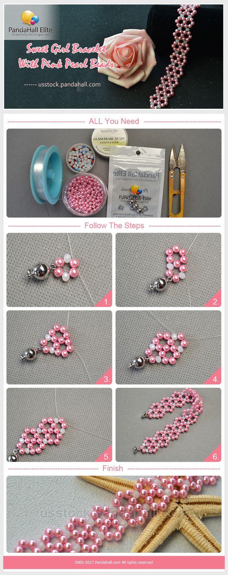 Süßes Mädchen Armband DIY mit Pandahall Elite Perlen   – Selber Machen