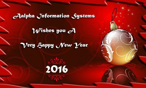 Wishing everyone a very Happy and Prosperous New Year, 2016. #HappyNewYear