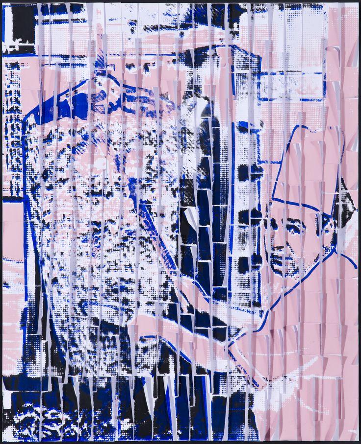 ARDAN ÖZMENOĞLU / DÖNER KEBAB  Post-it Not Kağıtları Üzerine Karışık Teknik / Mixed Media on Post-it Notes,    94 x 77 cm, 2011.