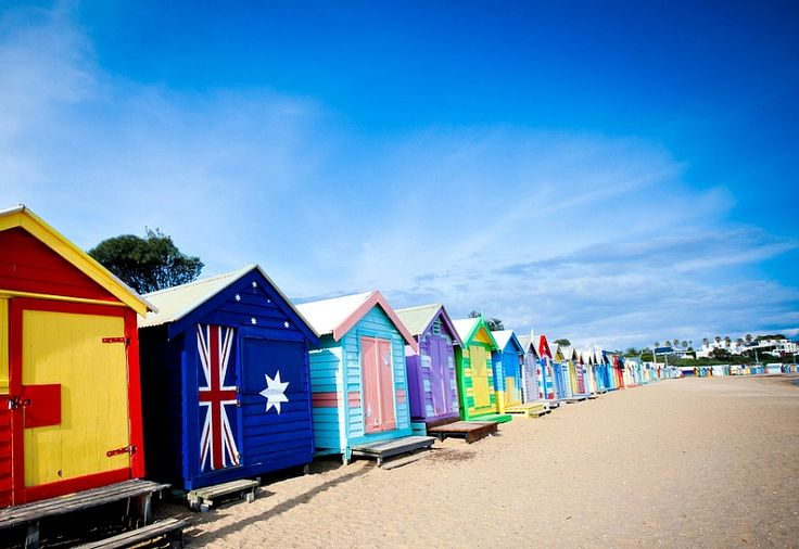 Brighton Beach, Victoria - Best beaches in Australia to visit!