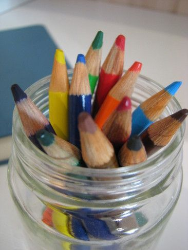 "What Color Was Your Day Journal: keep a journal and colored pencils next to your child's bed, have them decide what color their day was. Writers can then write ""why"", pre-writers can just color their day and tell you why...sweet ritual!"