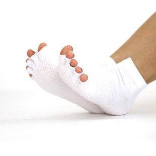 Yoga Socks Pilates Socks 2014 New 100% Cotton Professional Toe Socks For Women
