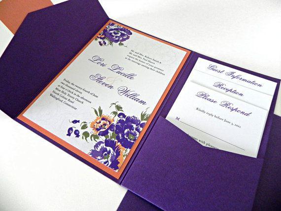 Vintage Floral & Lace Wedding Invitation Suite by sheilamaridesign