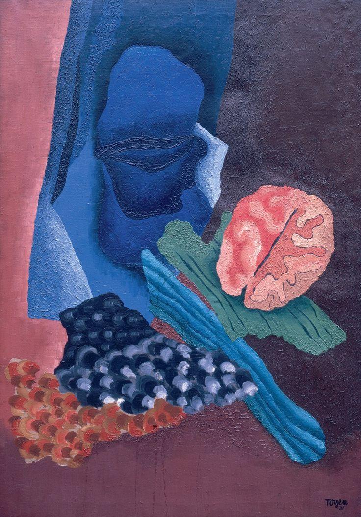 Toyen (Marie Čermínová) (1902-1980) - The Flora of the Sleep, 1931
