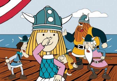Flake`de yaşardı. İsveçli yazar Runer Jonsson tarafından 1963 yılında yazılan çocuk kitabı Vicke Viking`ten uyarlanan Avusturya-Almanya-Japonya tarafından çizgi film haline getirilen Vikingler 1970`li yıllarda hepimizin bildiği