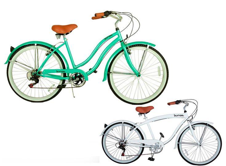 Bicicleta Vintage Burnett Cruiser Retrô