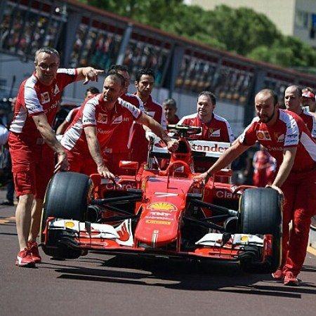 #PortHercule Scuderia Ferrari F1 team  The best   #ferrari #f1 #scuderia #race #car #hyper #fast #wheels #good #italy #love #cars #loveforcars #awesome #slicks #slick #f1team  Bring the V12 and V10 V8 Back!!! #f_b_b_c ✌ by f_b_b_c from #Montecarlo #Monaco