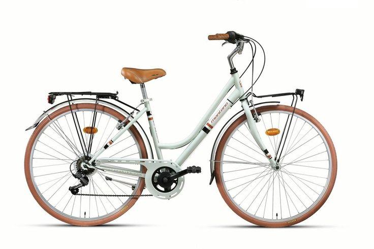 28 ZOLL MONTANA STREETLAND DAMEN CITY TREKKING FAHRRAD SHIMANO 7-GANG CREME GRÜN in Sport, Radsport, Fahrräder | eBay!