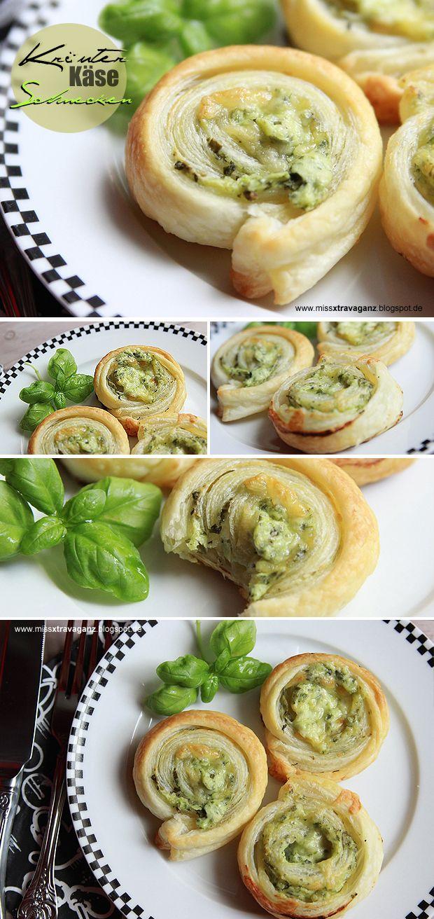! Miss von Xtravaganz ! Lifestyle- & Beautyblog !: [Rezept] Kräuter-Käse-Blätterteigschnecken