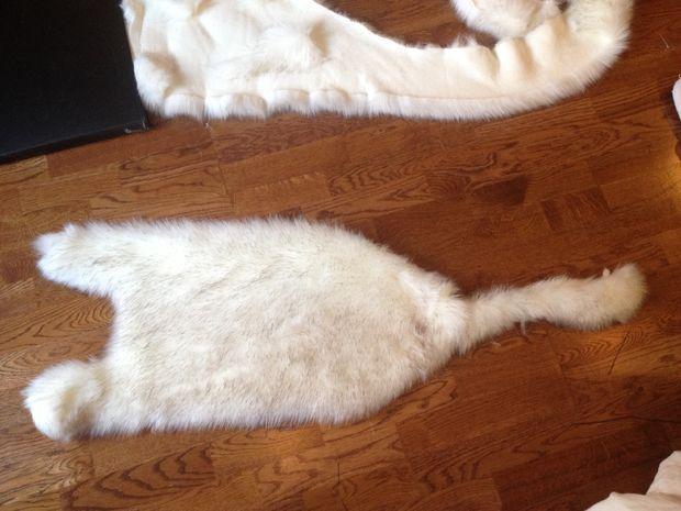 How to make princess mononoke fur cloak/cape