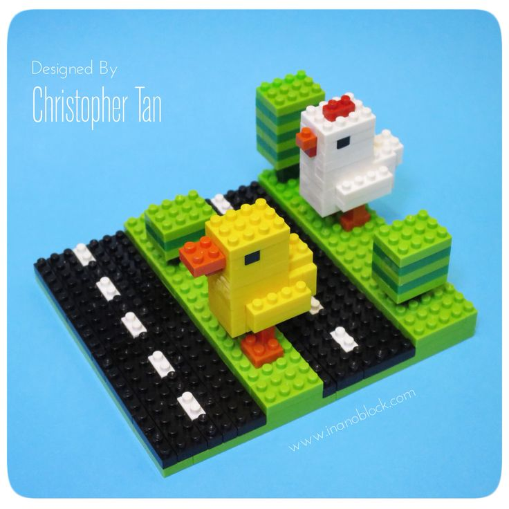 Crossy Road Chicken and Duck