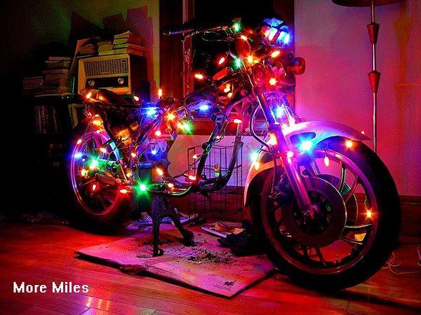 48 Best Festive Fun Images On Pinterest Motorbikes Biker Chick