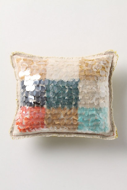 Unexpected Paillete Pillow, Small #anthropologie