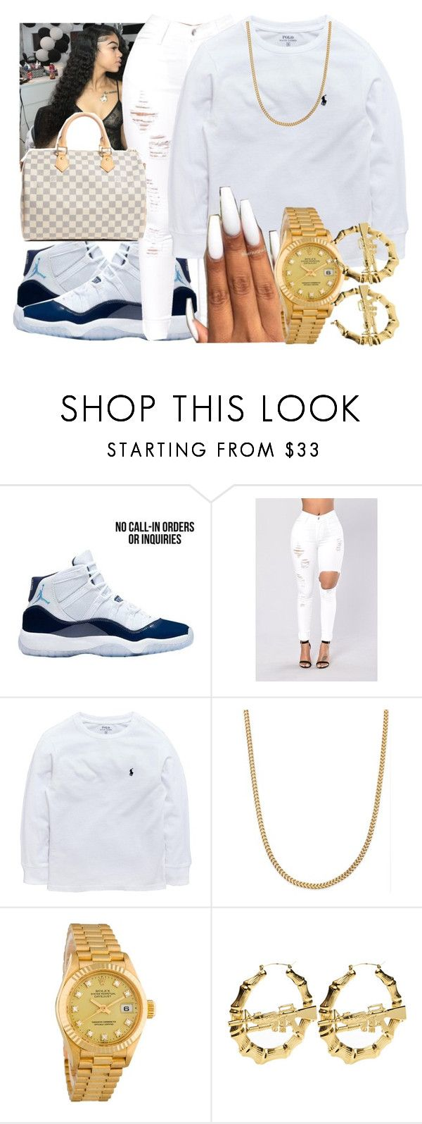 """"""""""" by queenarmanii ❤ liked on Polyvore featuring Ralph Lauren, Rolex and Louis Vuitton"""