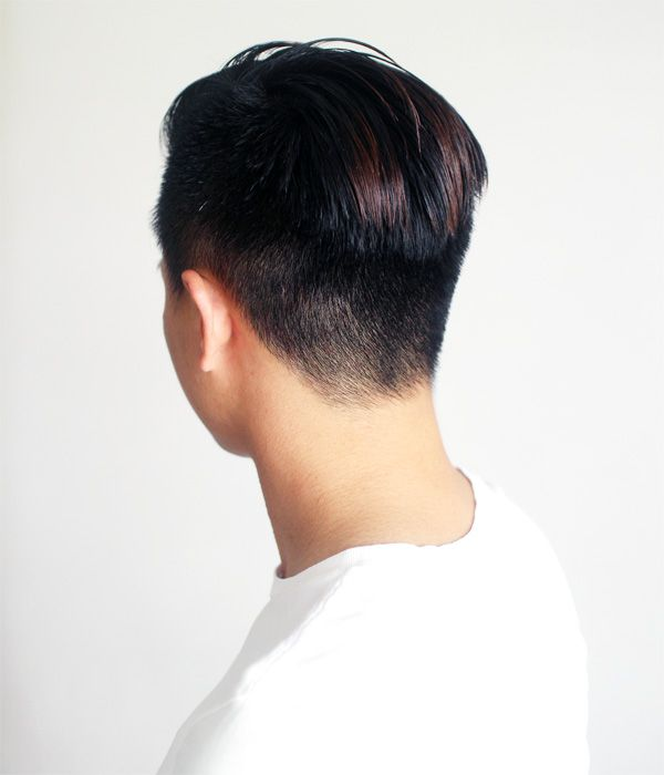 Slicked Back Undercut Step 32 | How To Style Slicked Back Undercut http://www.maxmayo.com/grooming/how-to-style-slicked-back-undercut/