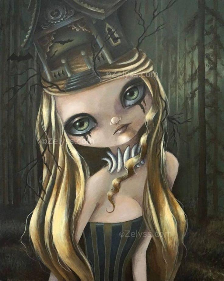 Bat your eyes -art by Zelyss by Zelyss on DeviantArt