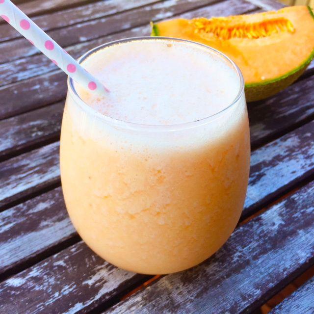 Melon och citronsmoothie