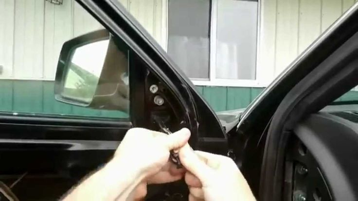 How to Replace Side View Mirror - Audi Allroad A6 C5 2001-2005
