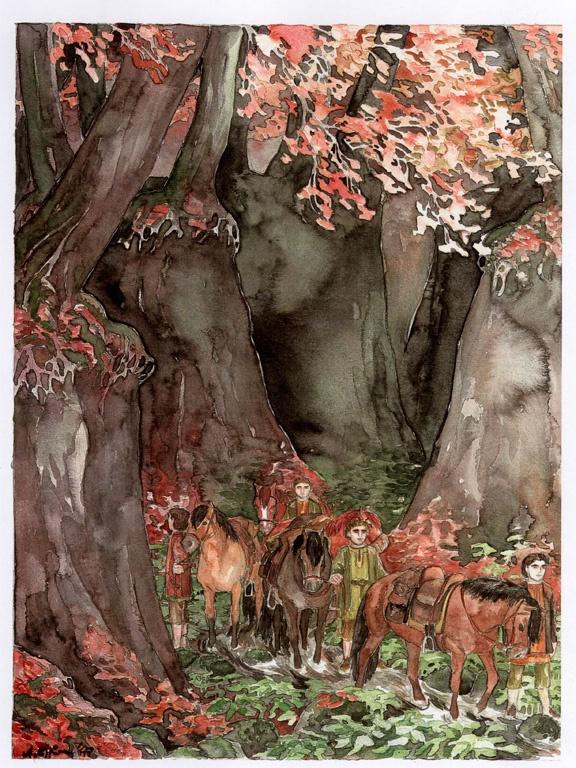 Hobbits en el Bosque Viejo, Anke Eissmann