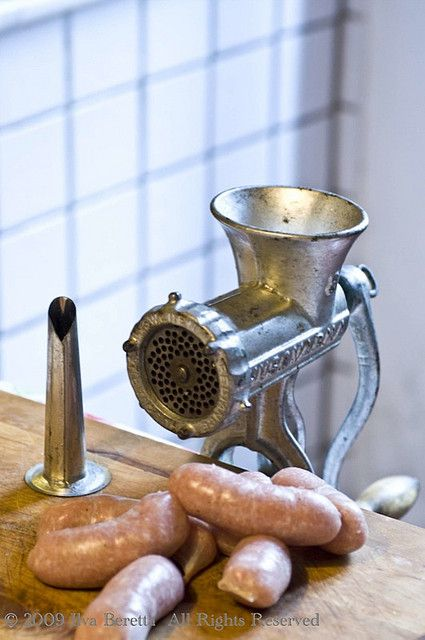 Things you need to make sausages.