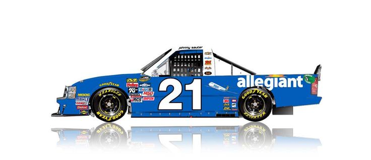 Paint Scheme Preview: Indianapolis and Eldora Thursday, July 20, 2017 Johnny Sauter will drive the No. 21 Allegiant Airlines Chevrolet. SHOP: NASCAR die-casts Photo: 28 / 31