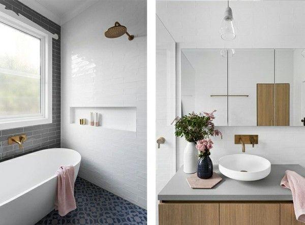 Badezimmergestaltung weiß und andere farben Badezimmer Ideen - farbe für badezimmer