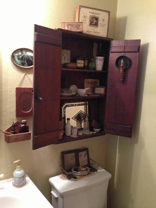 Great Cupboard In Bathroom