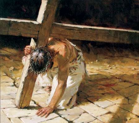 Jesus Carrying The Cross Painting Google Image Result fo...