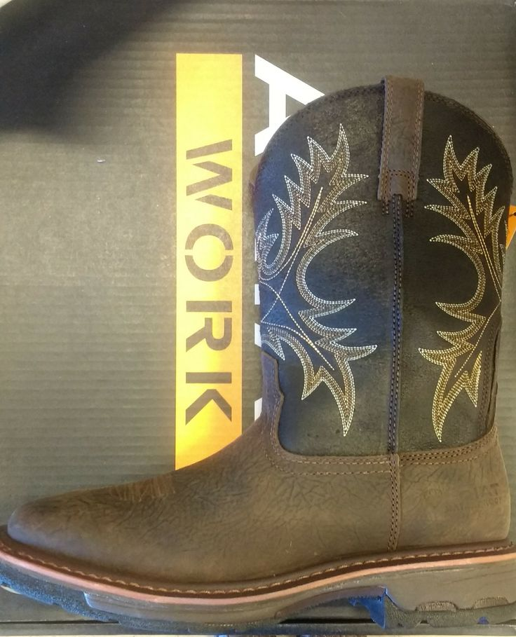 Men's Ariat WorkHog Wide Square Toe H2O. We only have one size