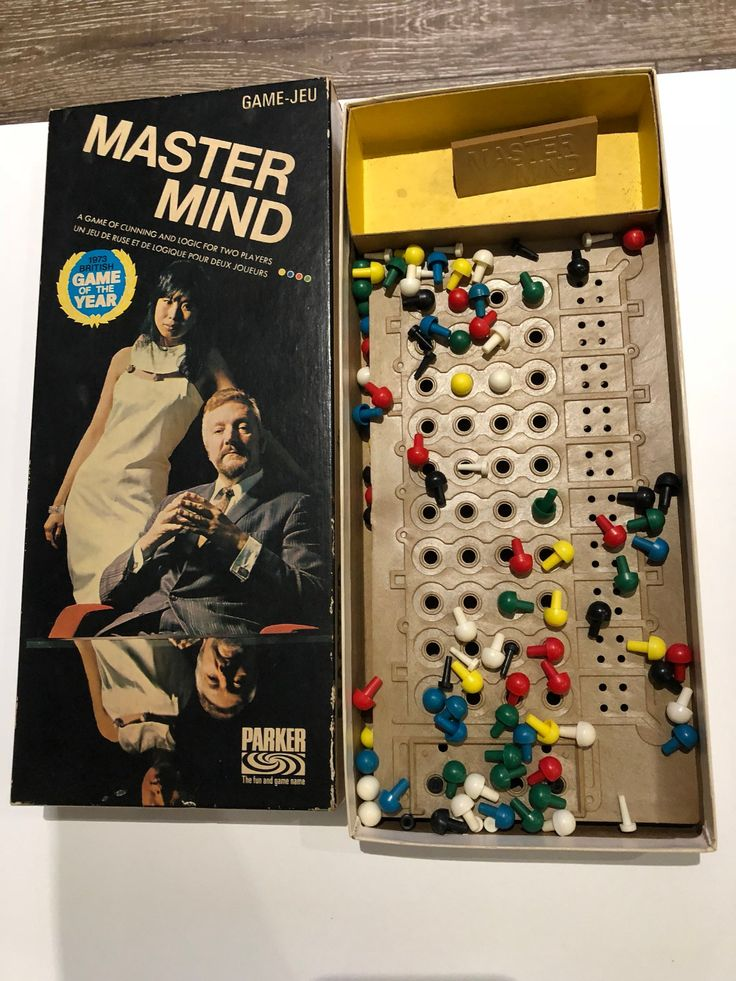 Vintage Original Mastermind 1972 Game of the year by