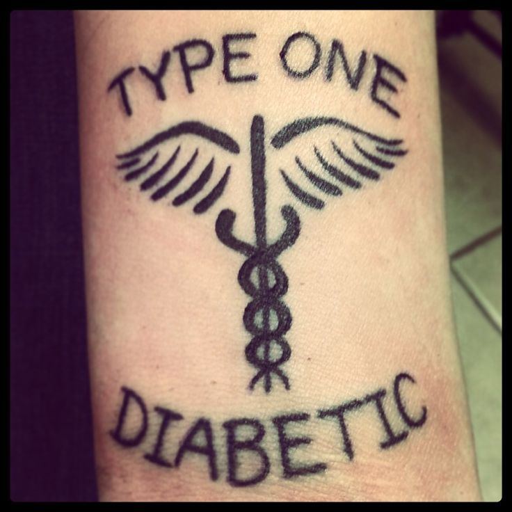 my way of wearing a medical alert tag typeonediabetic diabetes tattoo tattttoooos. Black Bedroom Furniture Sets. Home Design Ideas