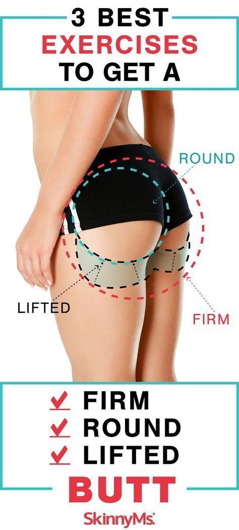 3 Best Exercises to Get a Firm, Round, Lifted Butt3 Best Exercises to Get a Firm, Round, Lifted Butt