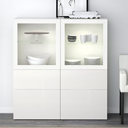 Ikea BESTÅ Vitrine