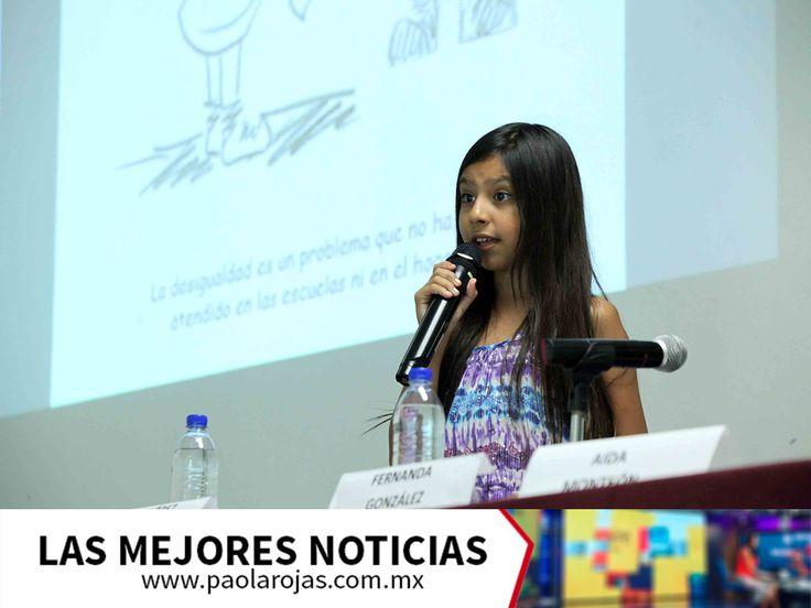 LAS MEJORES NOTICIAS. En México hay jóvenes destacadas que se consideran un ejemplo para desarrollar el empoderamiento de la mujer. Fernanda González Viramontes es una de ellas, ya que a sus 13 años recibió el Premio Nacional de la Juventud 2017 y se dedica a impartir conferencias sobre derechos humanos, equidad de género e inclusión. Además, ha escrito tres libros para promover la igualdad de género. Si desea más información, le invitamos a visitar nuestro sitio web www.paolarojas.com.mx…