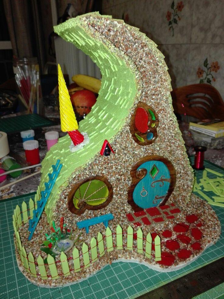 Fairy house in greece