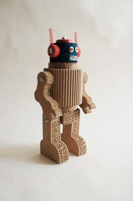 Rubber tire and cardboard turned into toys by designer Ricardo Geldres and Kareen Nishimura