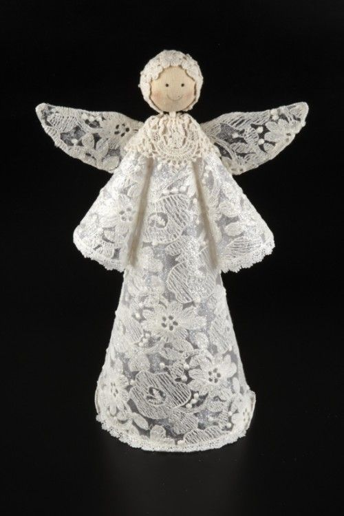 Large Lace Angel - 17258 | Rosefields